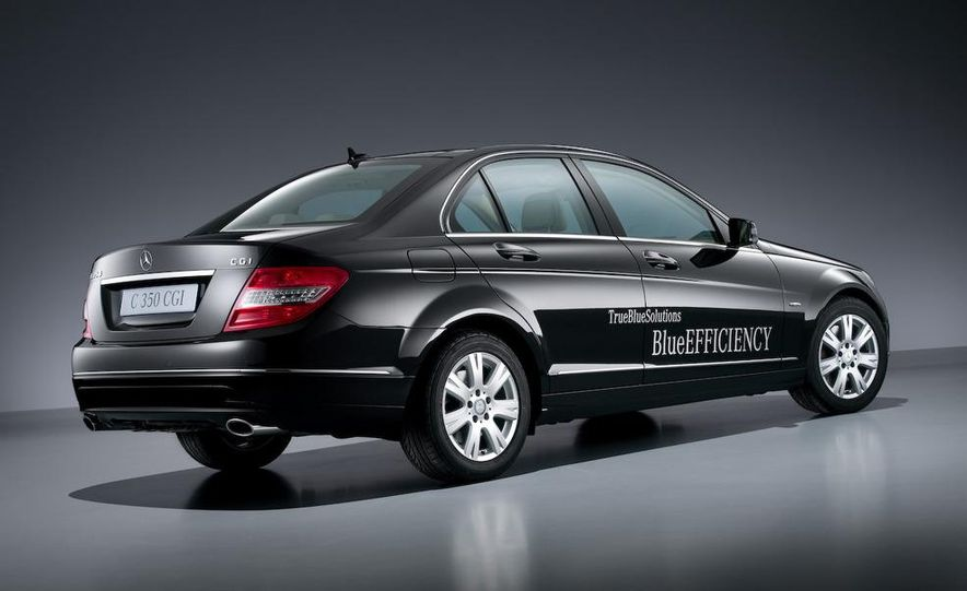 2008 Mercedes-Benz C-class Blue Efficiency - Slide 2