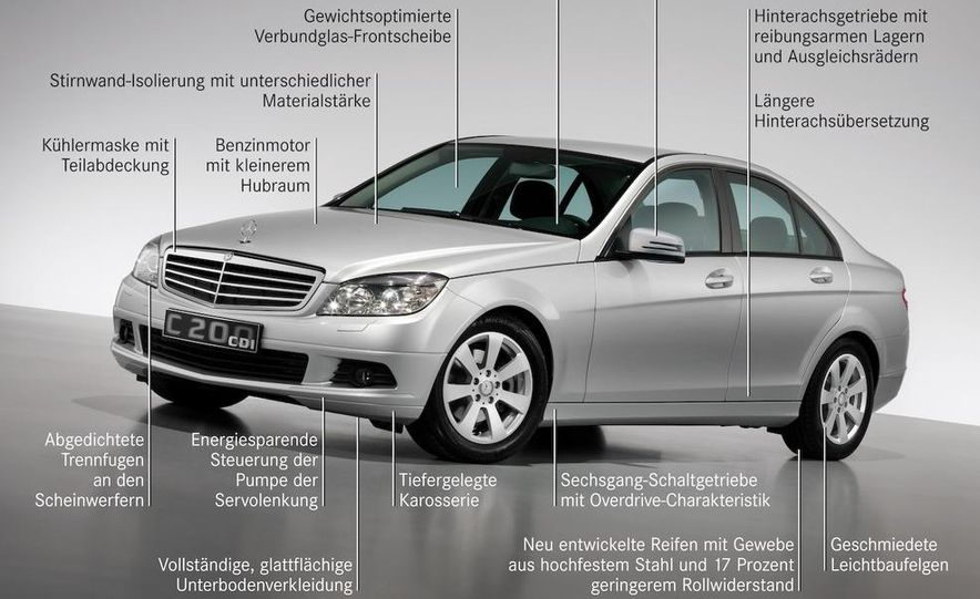 2008 Mercedes-Benz C-class Blue Efficiency - Slide 3