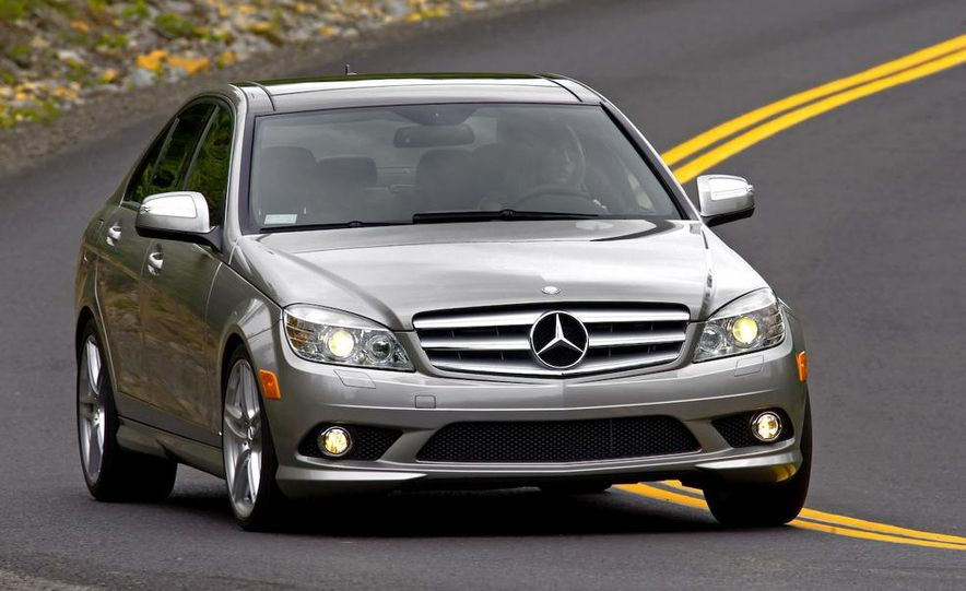 2008 Mercedes-Benz C-class Blue Efficiency - Slide 4
