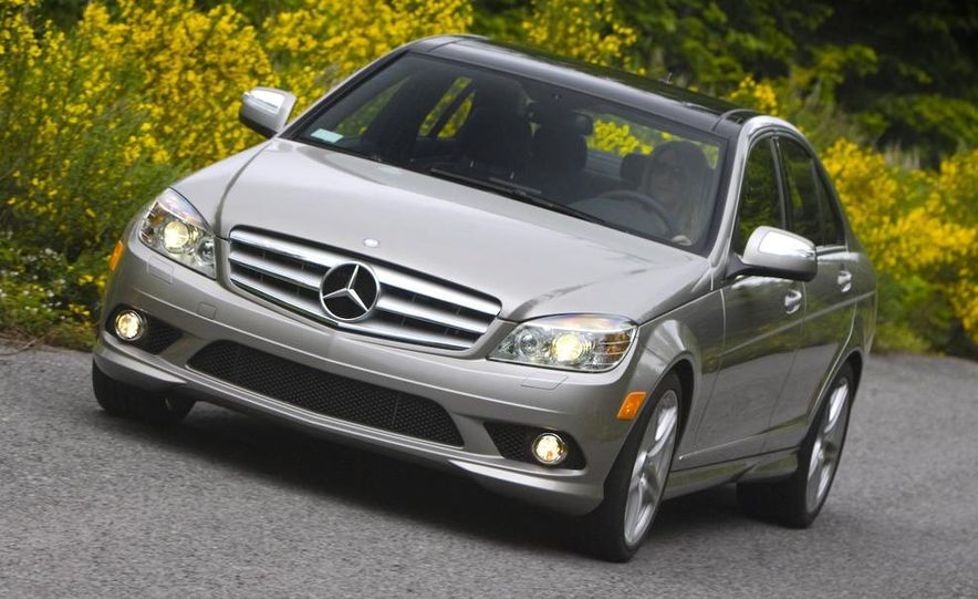 2008 Mercedes-Benz C-class Blue Efficiency - Slide 5