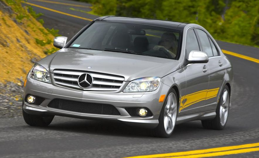 2008 Mercedes-Benz C-class Blue Efficiency - Slide 10