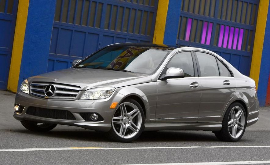 2008 Mercedes-Benz C-class Blue Efficiency - Slide 13
