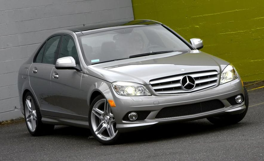 2008 Mercedes-Benz C-class Blue Efficiency - Slide 14