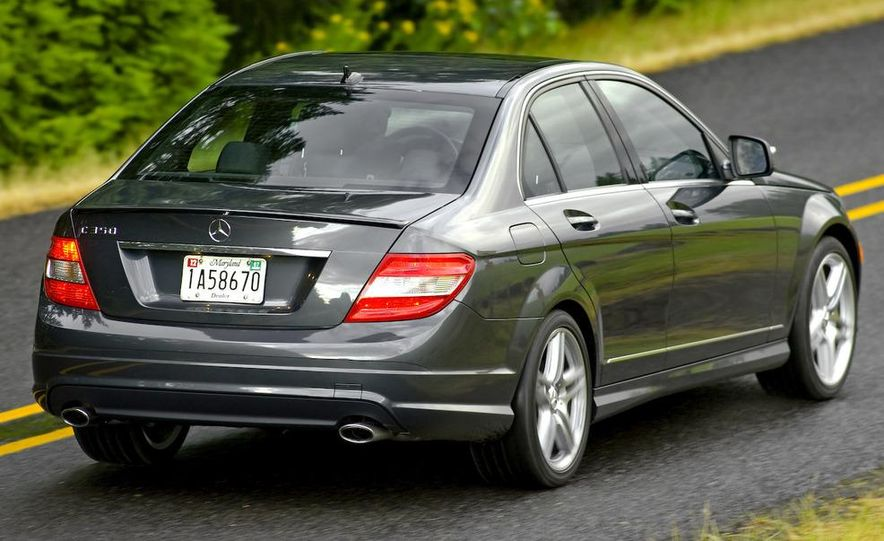 2008 Mercedes-Benz C-class Blue Efficiency - Slide 6