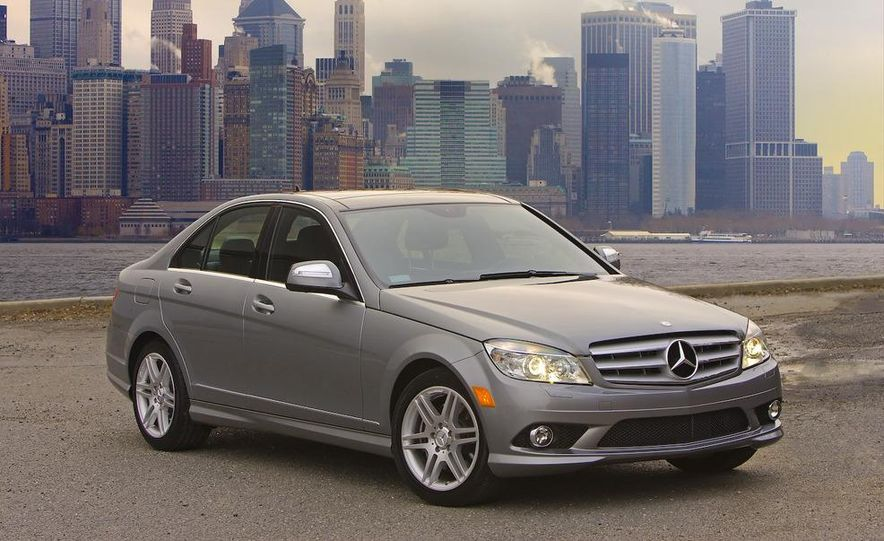 2008 Mercedes-Benz C-class Blue Efficiency - Slide 17