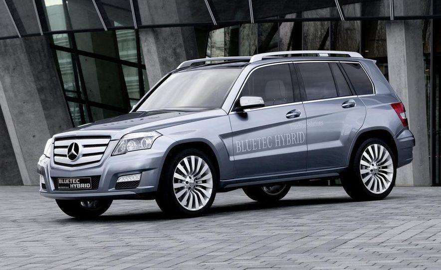 Mercedes-Benz Vision GLK BlueTec hybrid concept - Slide 1