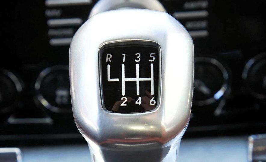 2008 Aston Martin DBS shifter - Slide 1
