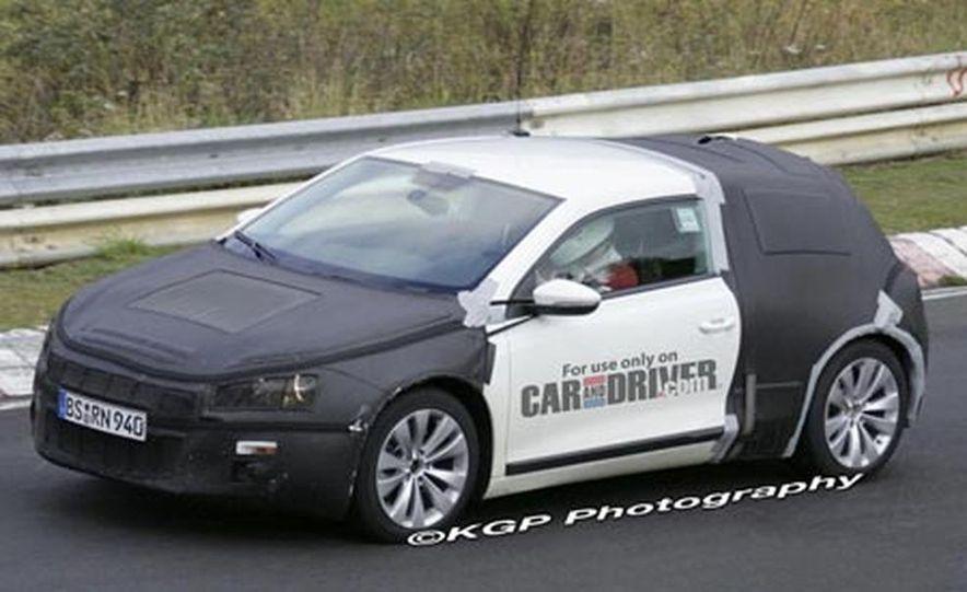2009 Volkswagen Scirocco - Slide 25