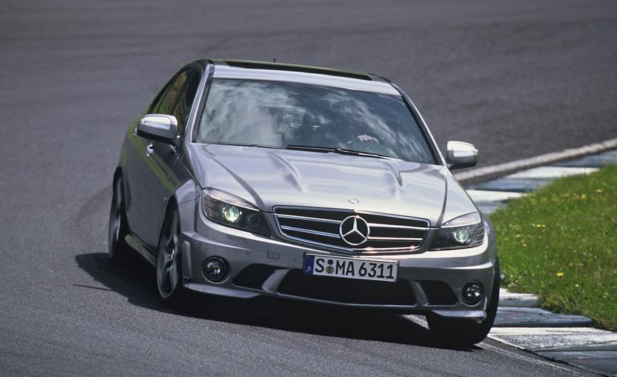 2008 Mercedes-Benz C63 AMG - Slide 1