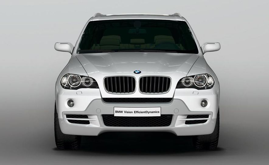 BMW X5 Vision Diesel hybrid concept - Slide 6