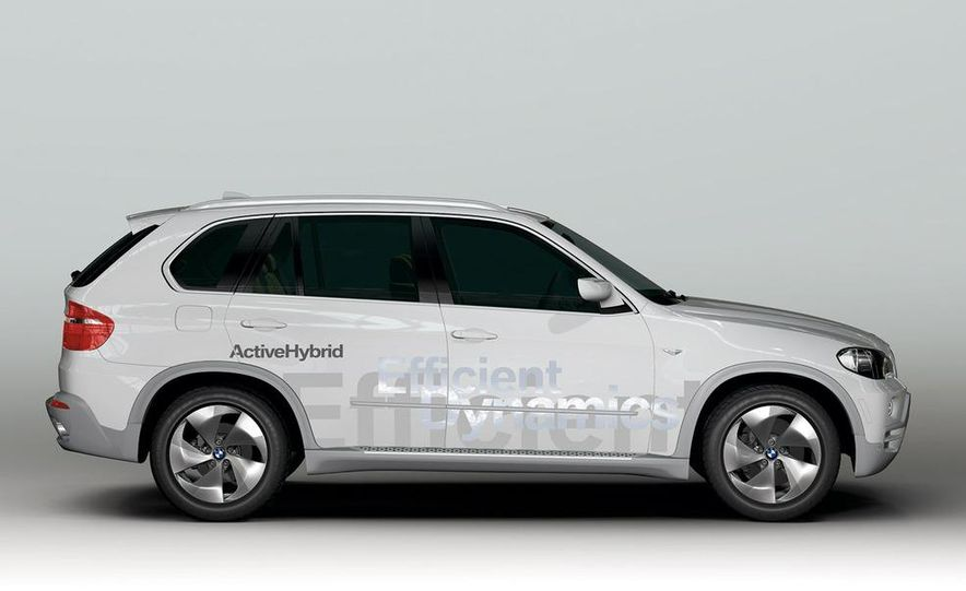 BMW X5 Vision Diesel hybrid concept - Slide 8