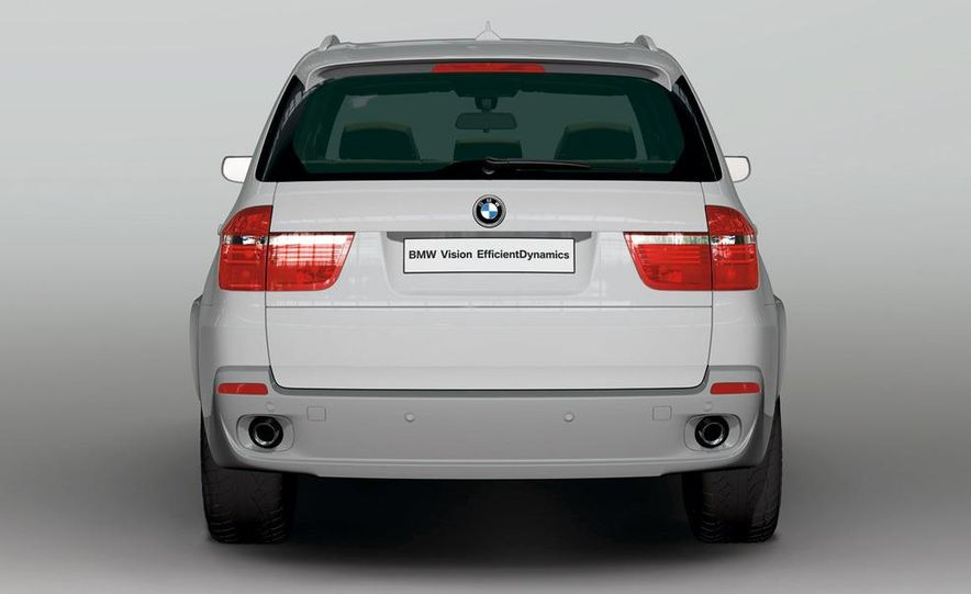 BMW X5 Vision Diesel hybrid concept - Slide 7