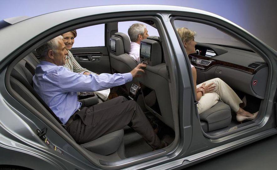 2008 Mercedes-Benz S-class interior - Slide 1
