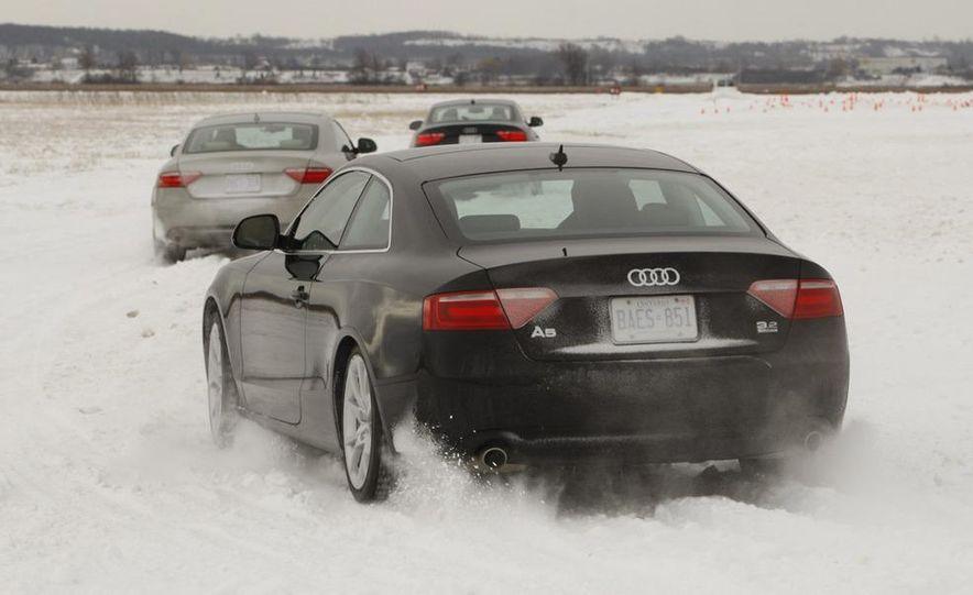 2008 Audi TDI Winter Test Drive - Slide 8