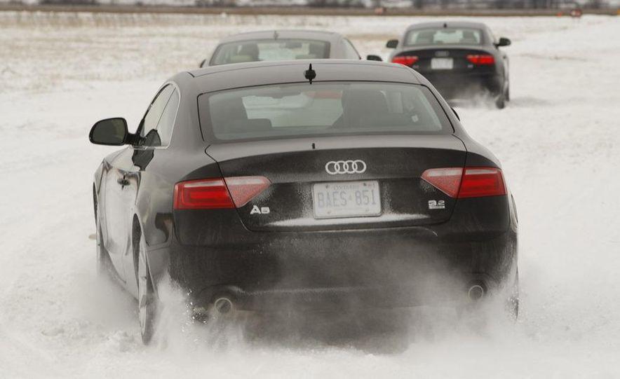 2008 Audi TDI Winter Test Drive - Slide 9