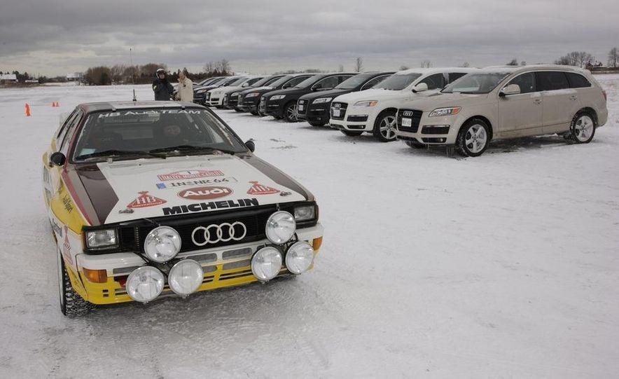 2008 Audi TDI Winter Test Drive - Slide 1