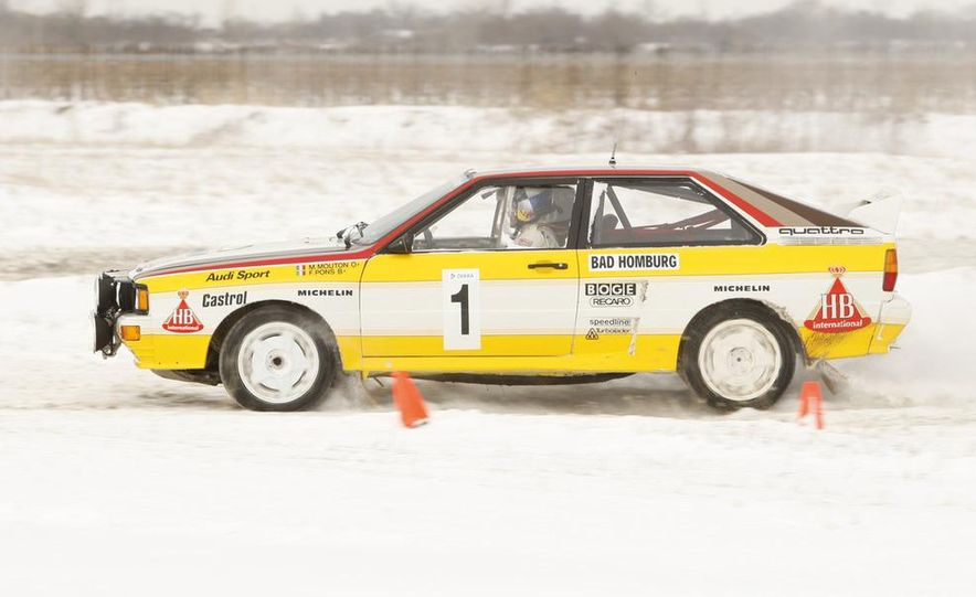 2008 Audi TDI Winter Test Drive - Slide 3