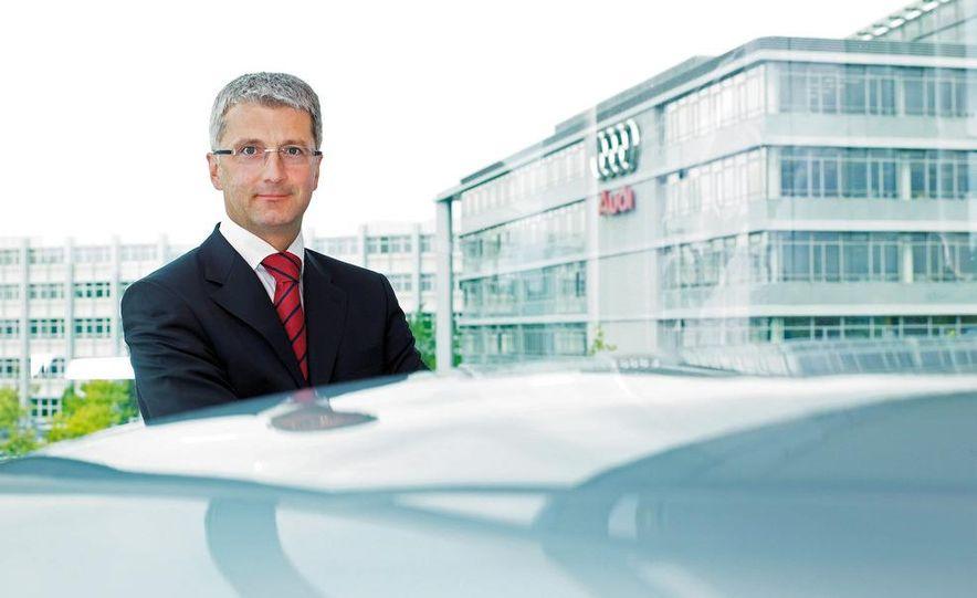 Rupert Stadler, chairman of the board, Audi AG. - Slide 1