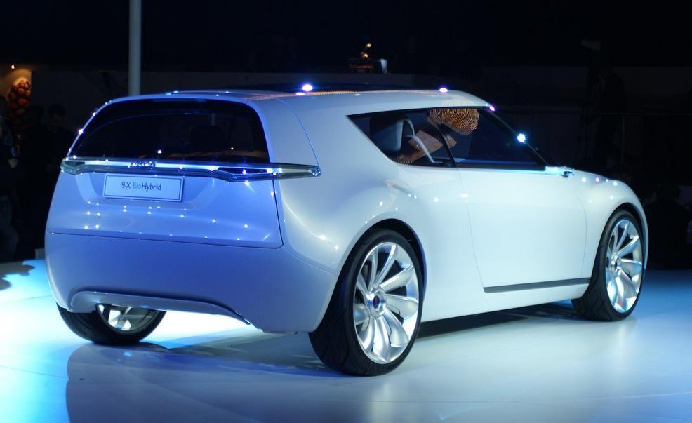 Saab 9 X Biohybrid Concept9 1