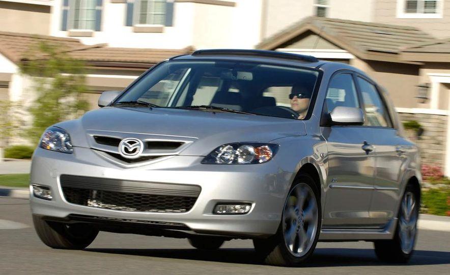 2008 Mazda 3 interior - Slide 7