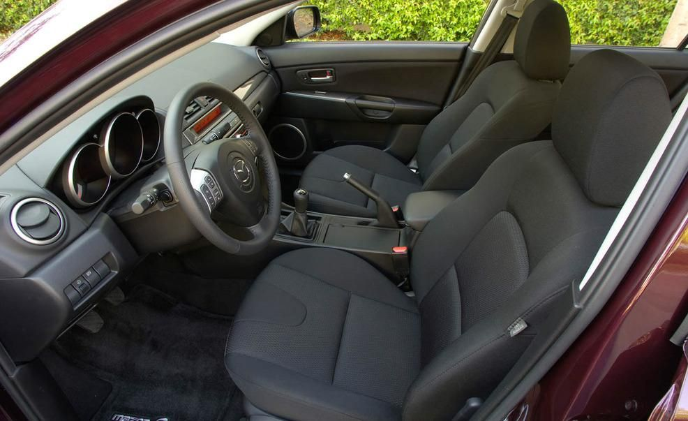 2008 Mazda 3 interior Pictures  Photo Gallery  Car and Driver