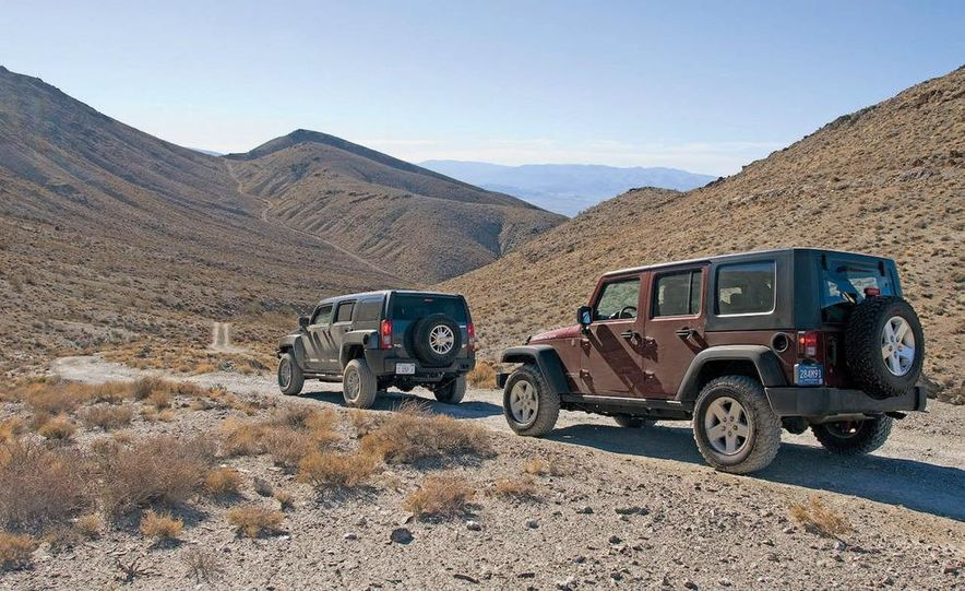 2008 Hummer H3 Alpha and Jeep Wrangler Unlimited Rubicon - Slide 1
