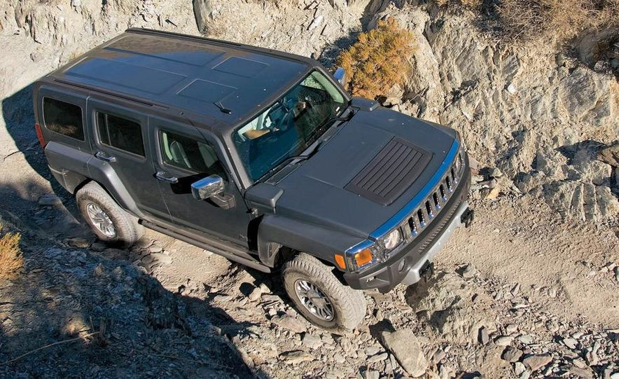 2008 Hummer H3 Alpha and Jeep Wrangler Unlimited Rubicon - Slide 6
