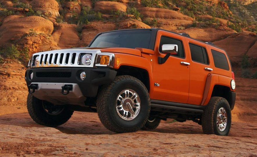 2008 Hummer H3 Alpha and Jeep Wrangler Unlimited Rubicon - Slide 17