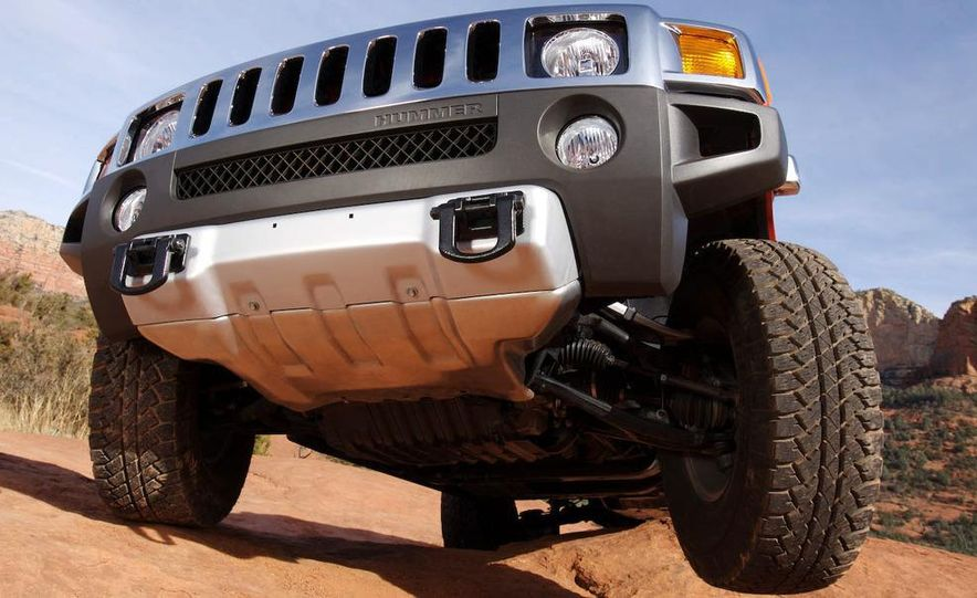 2008 Hummer H3 Alpha and Jeep Wrangler Unlimited Rubicon - Slide 20