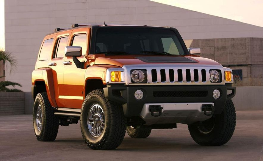 2008 Hummer H3 Alpha and Jeep Wrangler Unlimited Rubicon - Slide 21