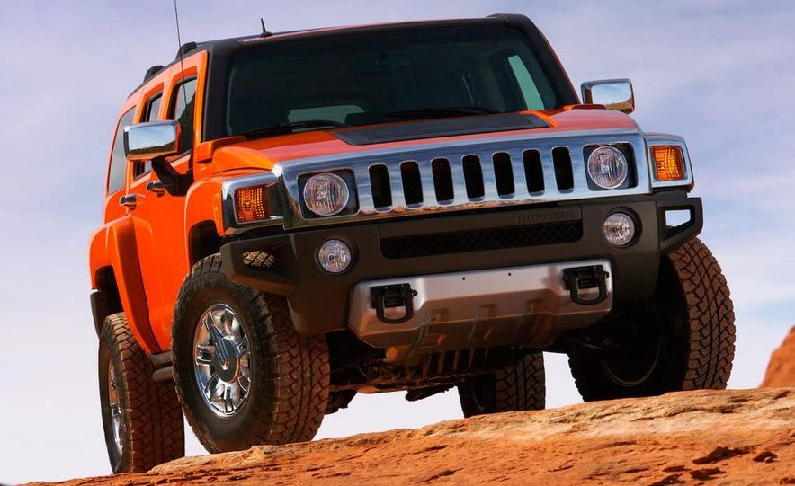 2008 Hummer H3 Alpha and Jeep Wrangler Unlimited Rubicon - Slide 23