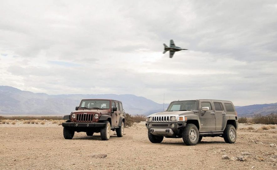 2008 Hummer H3 Alpha and Jeep Wrangler Unlimited Rubicon - Slide 5