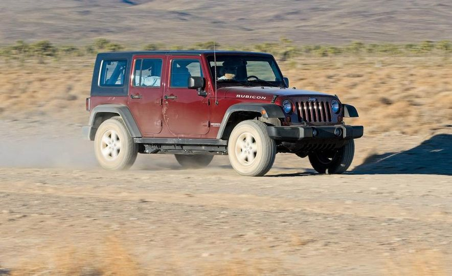 2008 Hummer H3 Alpha and Jeep Wrangler Unlimited Rubicon - Slide 3