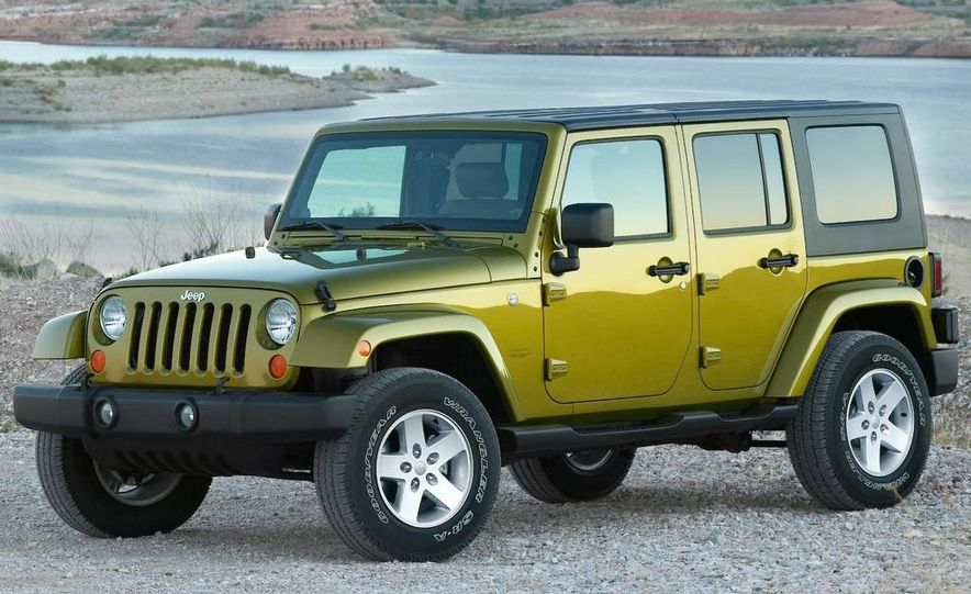 2008 Hummer H3 Alpha and Jeep Wrangler Unlimited Rubicon - Slide 13
