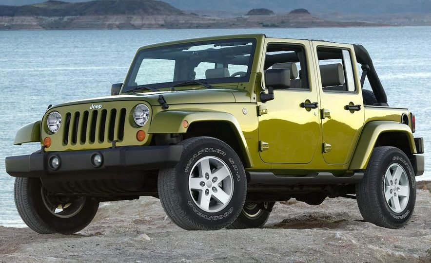 2008 Hummer H3 Alpha and Jeep Wrangler Unlimited Rubicon - Slide 14