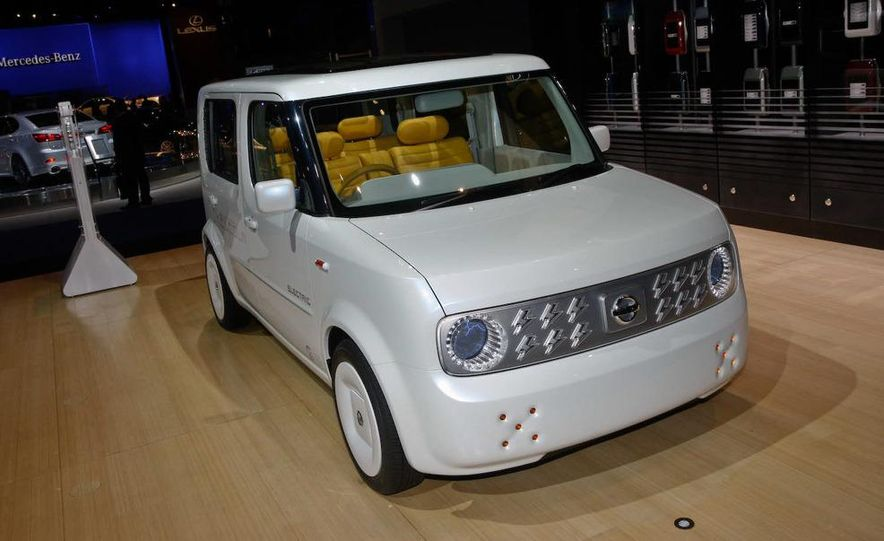 Nissan Denki Cube concept - Slide 1
