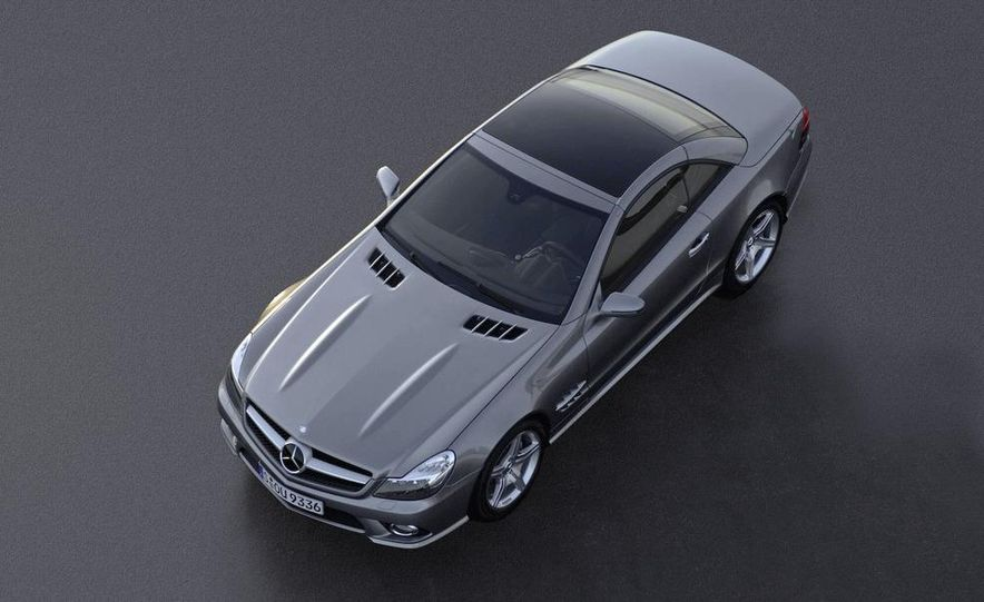 2009 Mercedes-Benz SL600 - Slide 26
