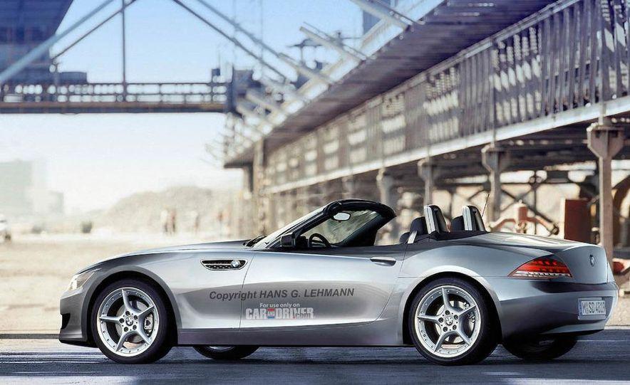 2010 BMW Z4 roadster illustration - Slide 1