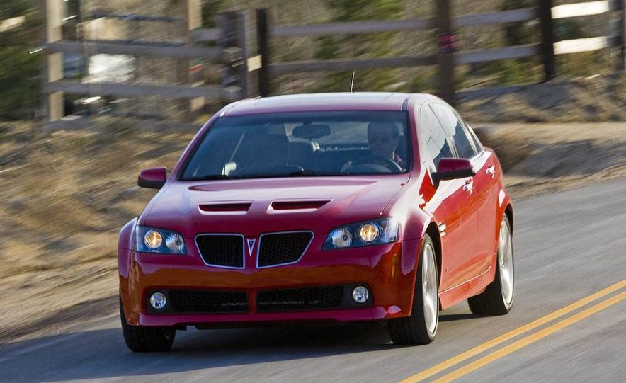 2009 Pontiac G8 GXP - Slide 24