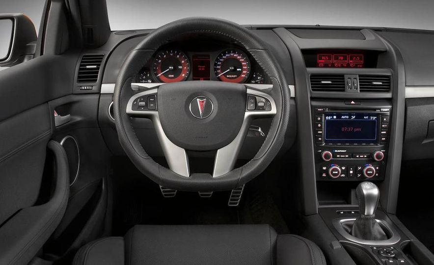 2009 Pontiac G8 GXP - Slide 4
