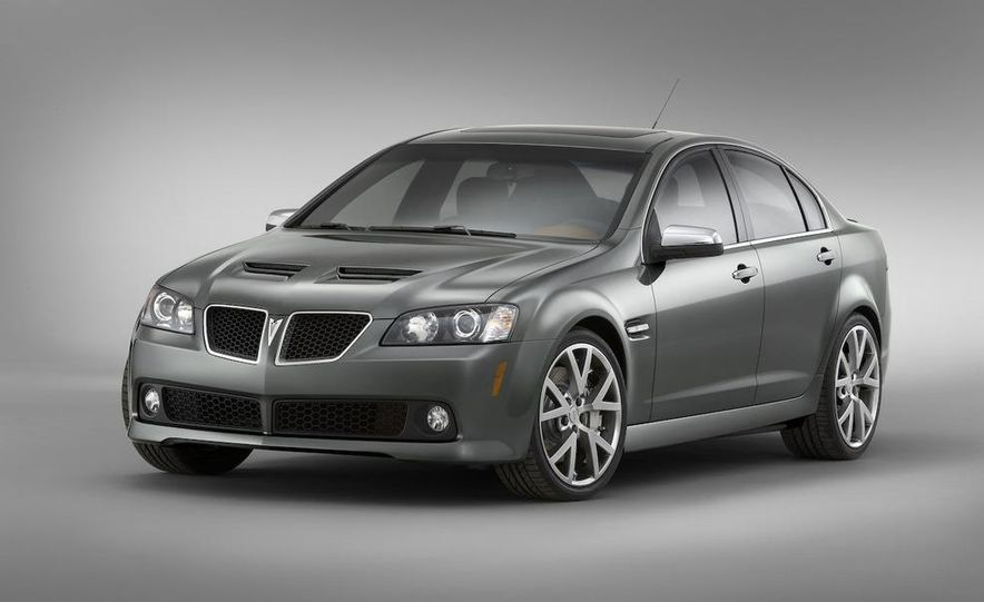 2008 Pontiac G8 - Slide 1