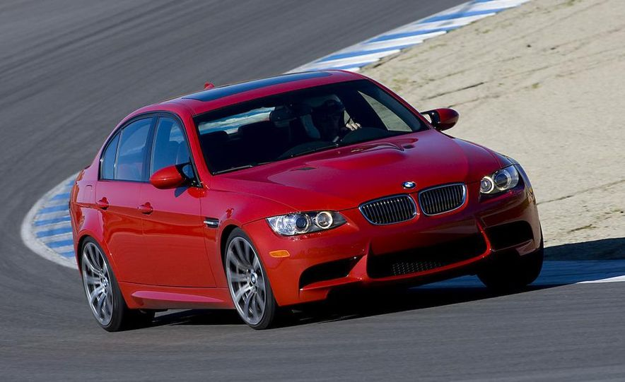 2008 Lexus IS F and 2008 BMW M3 - Slide 31