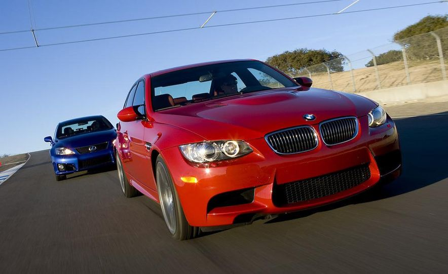 2008 Lexus IS F and 2008 BMW M3 - Slide 2