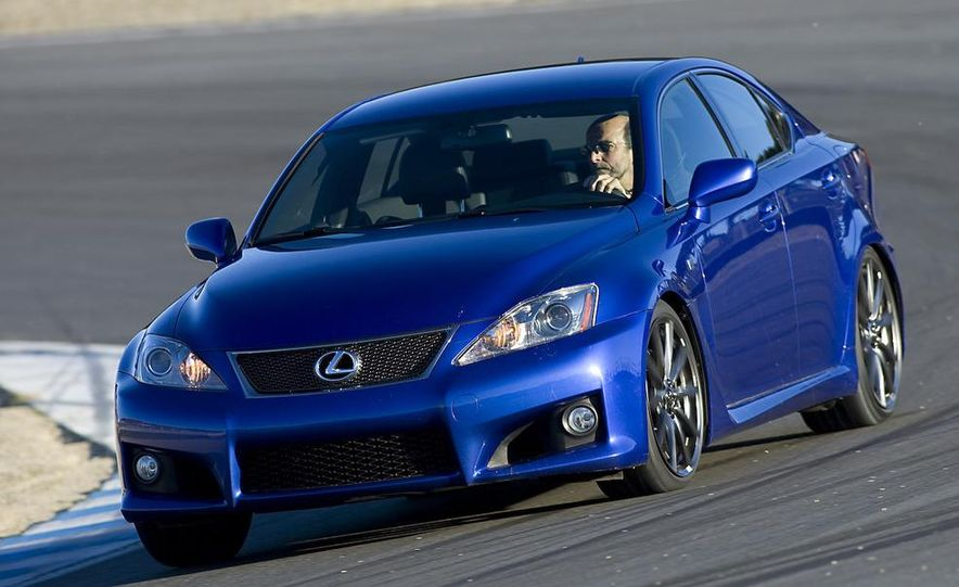 2008 Lexus IS F and 2008 BMW M3 - Slide 8
