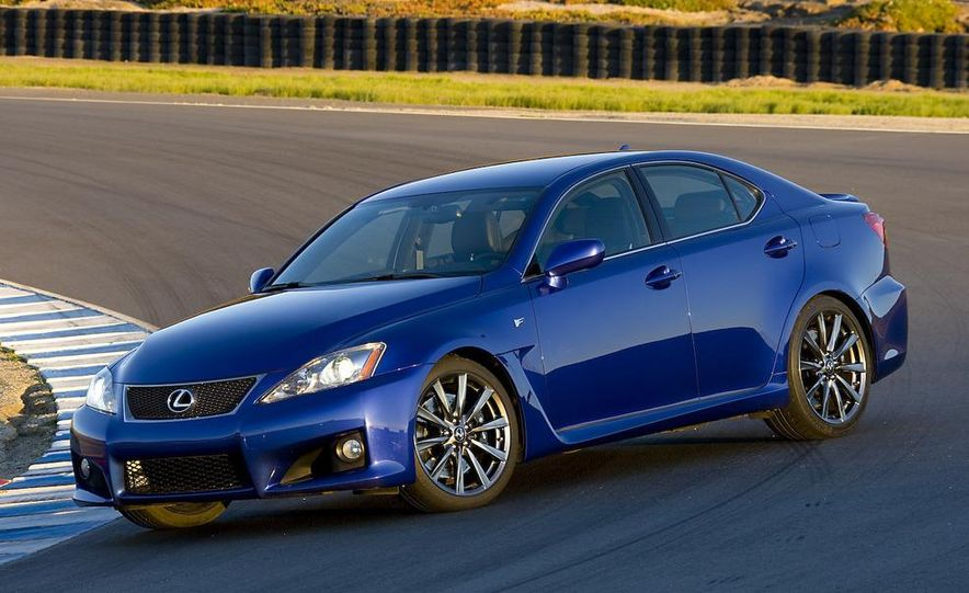 2008 Lexus IS F and 2008 BMW M3 - Slide 9