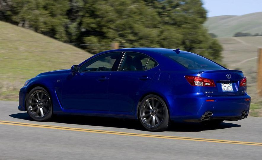 2008 Lexus IS F and 2008 BMW M3 - Slide 12