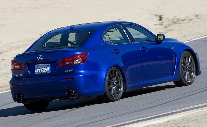 2008 Lexus IS F and 2008 BMW M3 - Slide 14