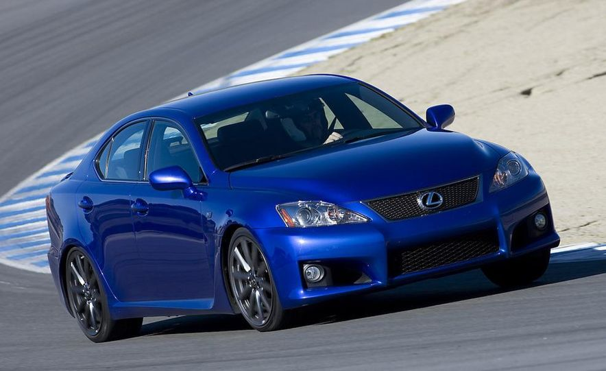 2008 Lexus IS F and 2008 BMW M3 - Slide 15