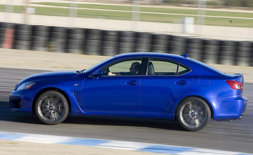 2008 Lexus IS F and 2008 BMW M3 - Slide 16