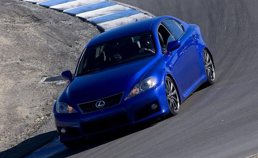 2008 Lexus IS F and 2008 BMW M3 - Slide 17